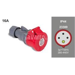 BASE MOVIL 3P+T 16A 380-415V IP44