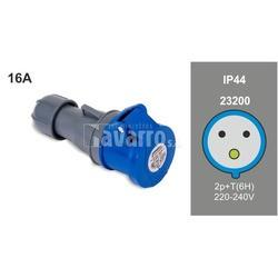 BASE MOVIL 2P+T 16A 220-240V IP44